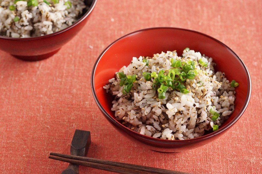 もみ海苔の炊き込みご飯